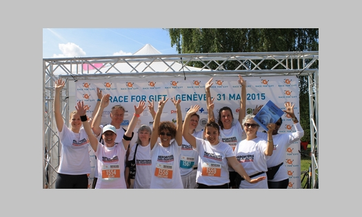 31 mai 2015 – RSF participe à RACE FOR GIFT
