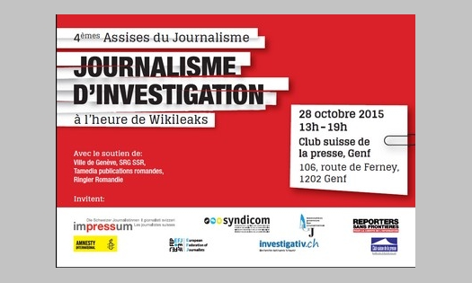28 octobre 2015 – Les Assises du journalisme