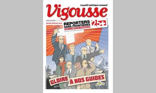 10 janvier 2016 : Numéro spécial RSF-Vigousse