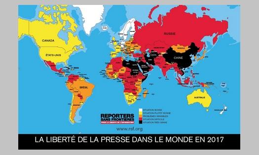 Classement mondial de la presse 2017 : Le grand basculement