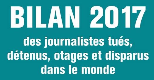 Bilan annuel de la liberté de la presse dans le monde
