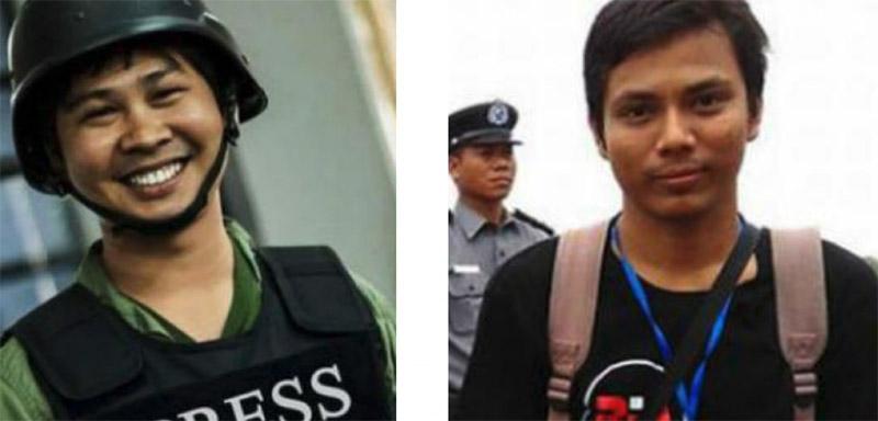 Libérez Wa Lone et Kyaw Soe Oo !