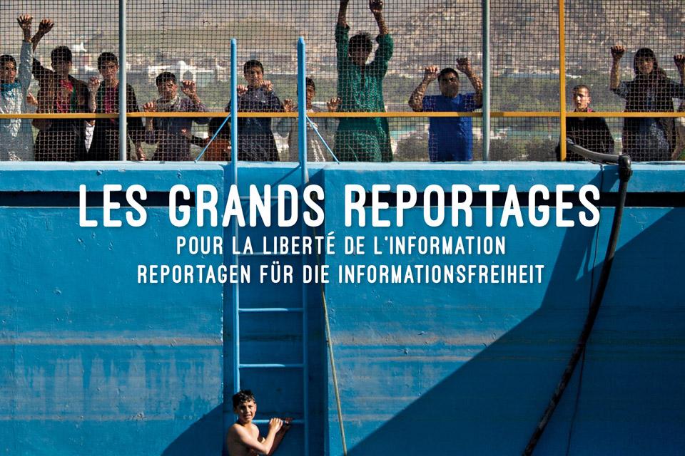 Fotoband «Reportagen für die Informationsfreiheit»