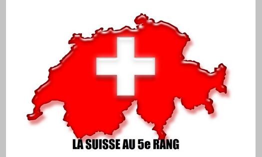 Die Schweiz liegt in der ROG-Rangliste von 2018 auf Platz 5