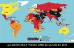 Classement mondial de la liberté de la presse 2018 : la haine du journalisme menace les démocraties