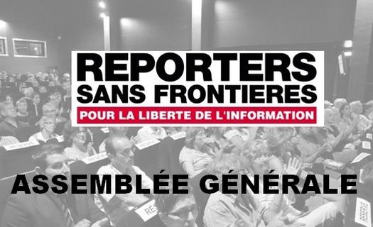 28 mai : Assemblée générale RSF Suisse