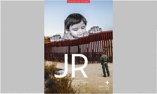 JR, 100 photos pour la liberté de la presse