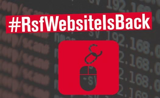 """Pour """"fêter"""" les un an de censure de son site en Egypte, RSF le remet en ligne"""