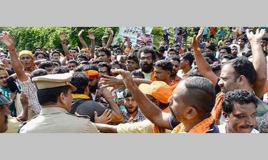 Inde : Violentes attaques contre les femmes journalistes par des fondamentalistes hindous au Kerala