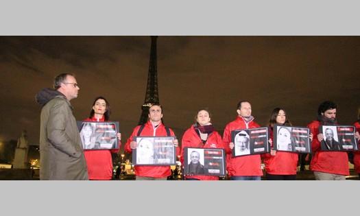 Un mois après la mort de Khashoggi, RSF éteint symboliquement la tour Eiffel en hommage aux journalistes tués