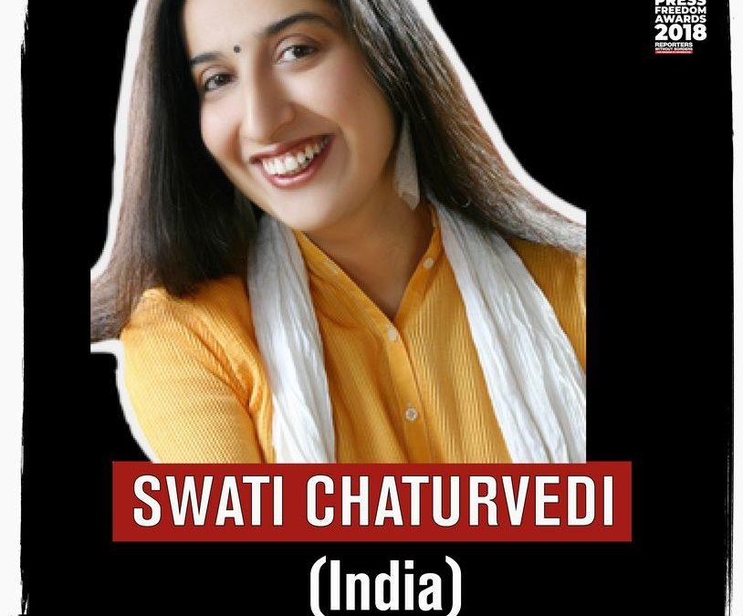 ROG ehrt Swati Chaturvedi, Matthew Caruana Galizia und Inday Espina-Varona als Journalisten des Jahres