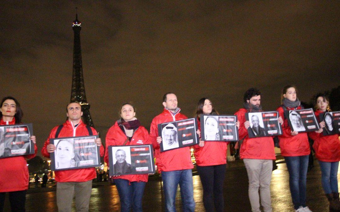 Gegen Straffreiheit für Verbrechen an Medienschaffenden
