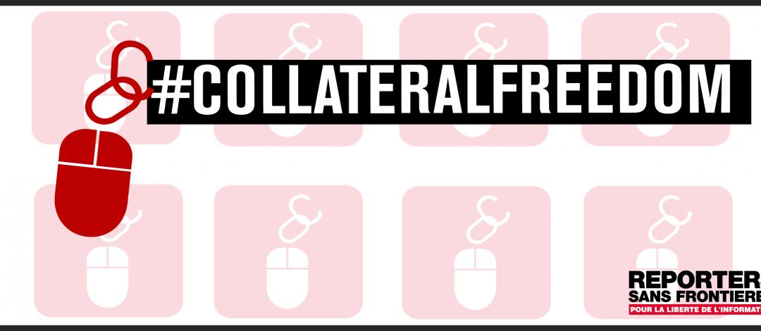 #CollateralFreedom: ROG entsperrt drei weitere zensierte Online-Medien