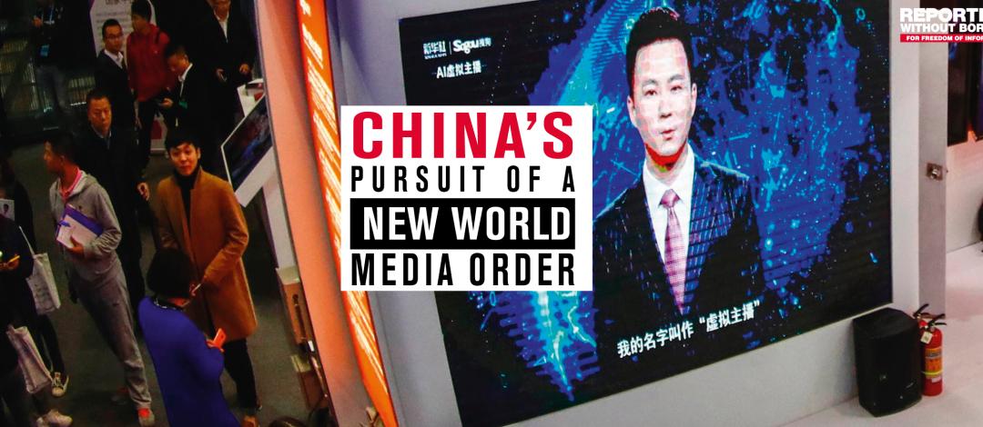 ROG-Bericht: Chinas «neue Weltmedienordnung»