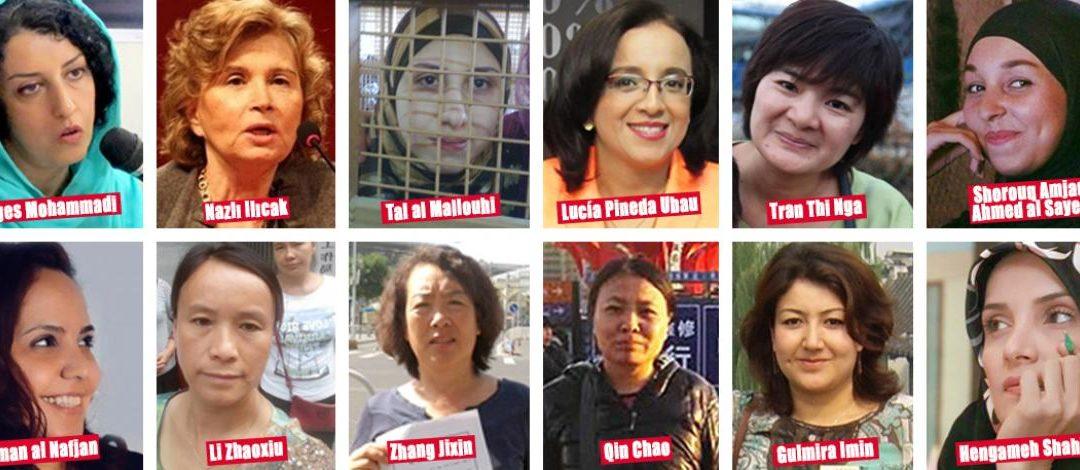 Internationaler Frauentag: 27 Journalistinnen unter härtesten Bedingungen inhaftiert