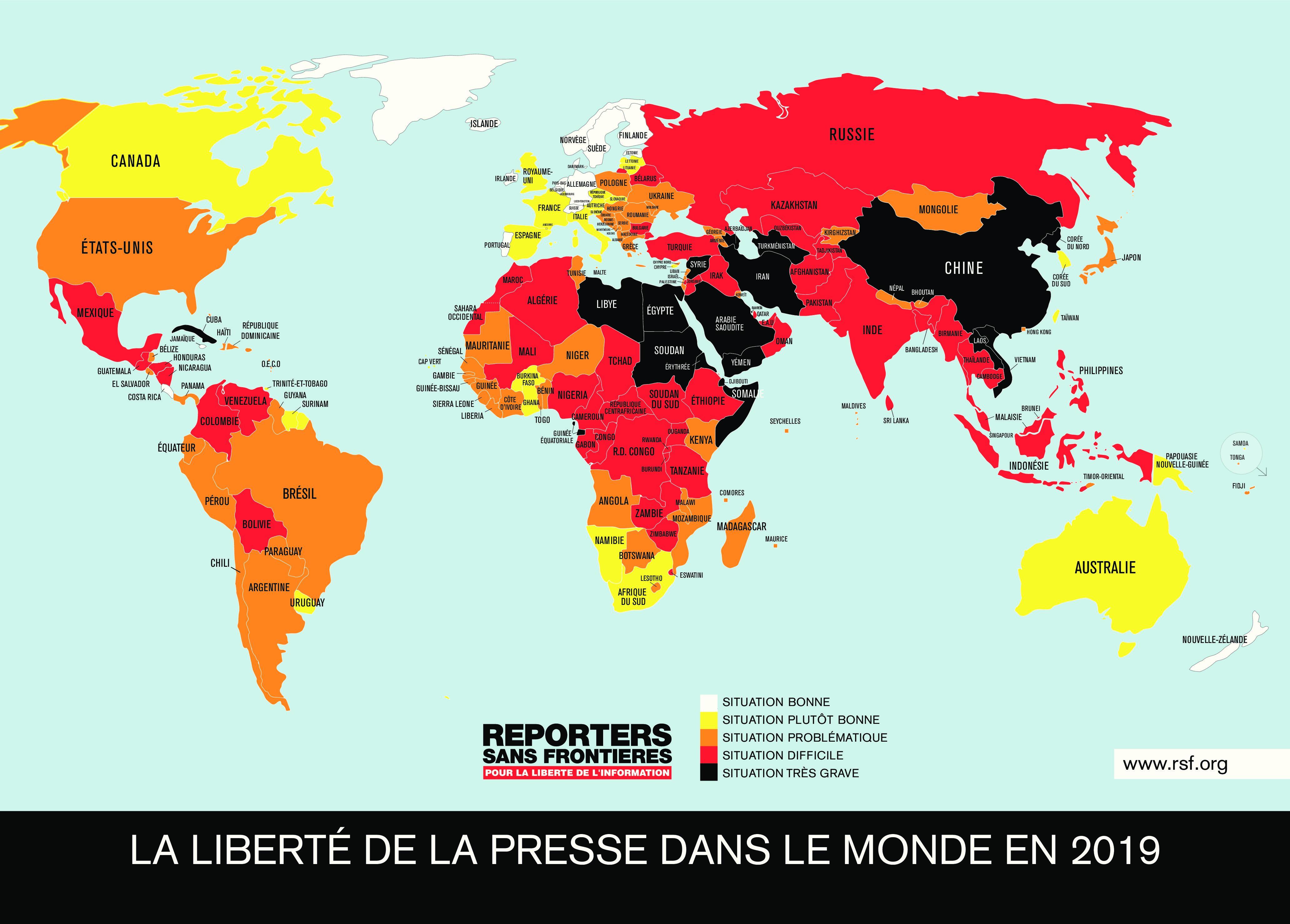 La Suisse bien placée, mais la diversité de ses médias en danger