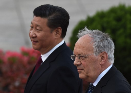 Reporters sans frontières Suisse Chine Johann Schneider-Ammann