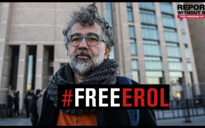 Erol Önderoğlu enfin acquitté dans un procès, un autre se profile