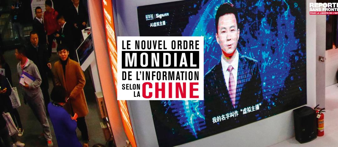 Rapport RSF: «Le nouvel ordre mondial des médias selon la Chine»