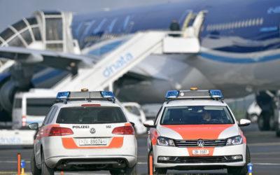 RSF Schweiz ist beunruhigt über die Festnahme eines Fotografen durch die Polizei am Flughafen Zürich