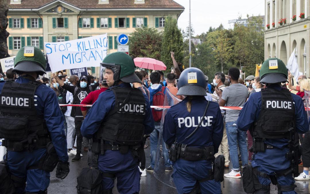 Probleme zwischen Medienschaffenden und der Polizei