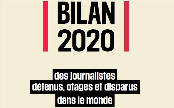 Bilan RSF 2020: une augmentation de 35% du nombre de femmes journalistes en détention arbitraire