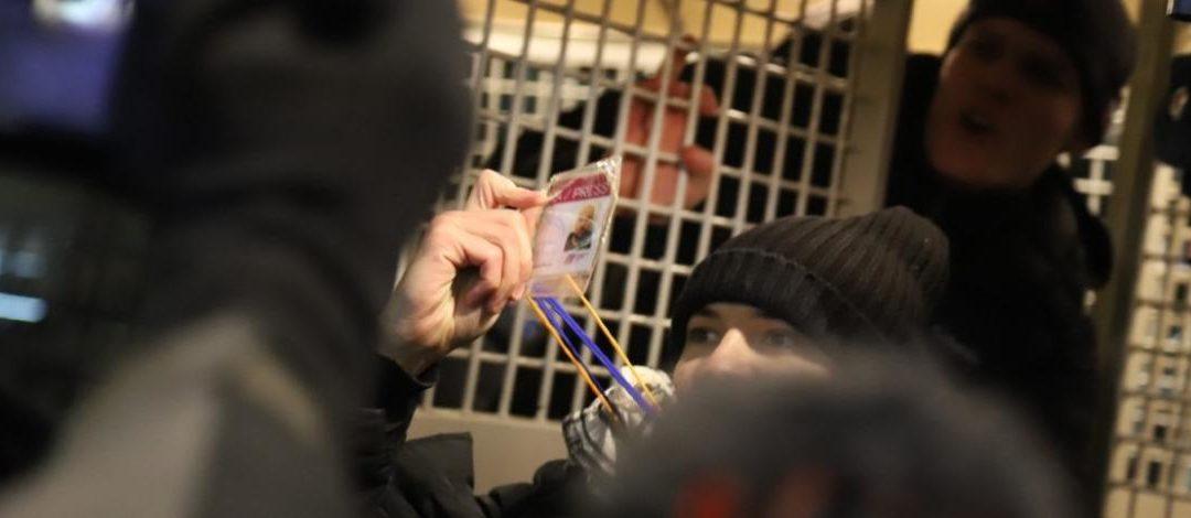 Russie : RSF dénonce la répression des journalistes couvrant les manifestations pro-Navalny