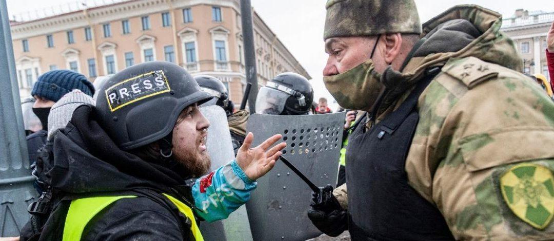 Russie : « La liberté de la presse bafouée par les forces de l'ordre lors des rassemblements pro-Navalny »