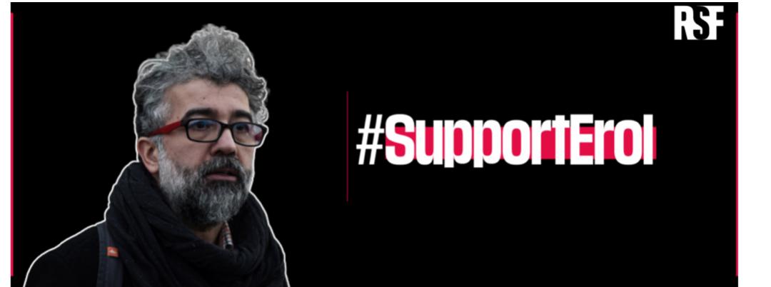 Déclaration commune en soutien à Erol Önderoğlu, qui risque 14 ans de prison