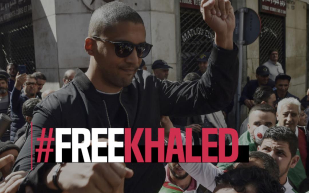 RSF Schweiz begrüsst es, dass Ignazio Cassis in Algerien den Fall Khaled Drareni angesprochen hat