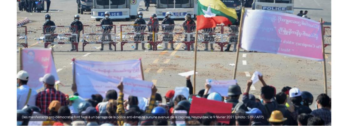 """Coup d'Etat en Birmanie : """"En dix jours, la liberté de la presse a régressé de dix ans"""""""