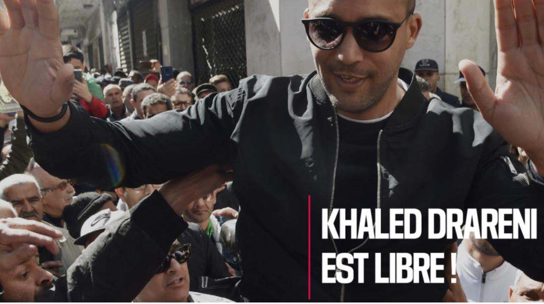 RSF-Algerien-Korrespondent Khaled Drareni ist frei!