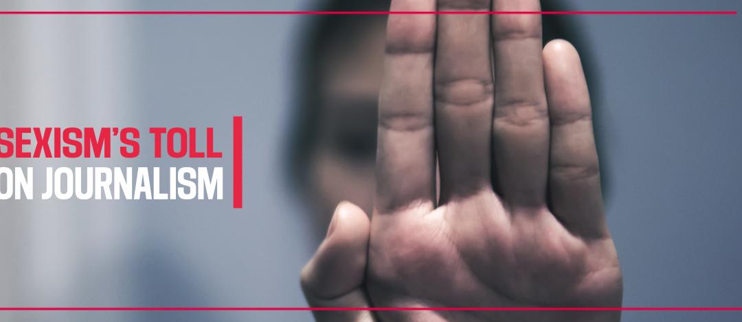 Zum Internationalen Frauentag veröffentlicht RSF den Bericht «Wie Sexismus Journalistinnen bedroht»