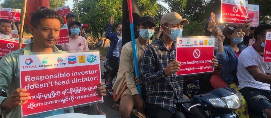 RSF interpelle 10 multinationales opérant en Birmanie au profit de la junte militaire