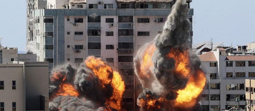 Médias détruits à Gaza : RSF demande à la procureure de la CPI de déterminer si un crime de guerre a été commis