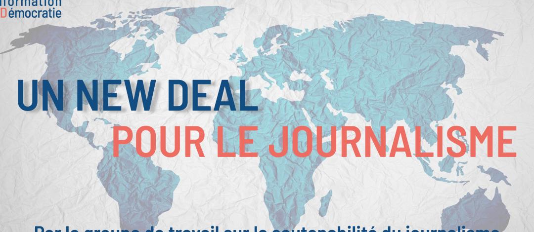 Le Forum sur l'information et la démocratie réclame «un New Deal pour le journalisme»