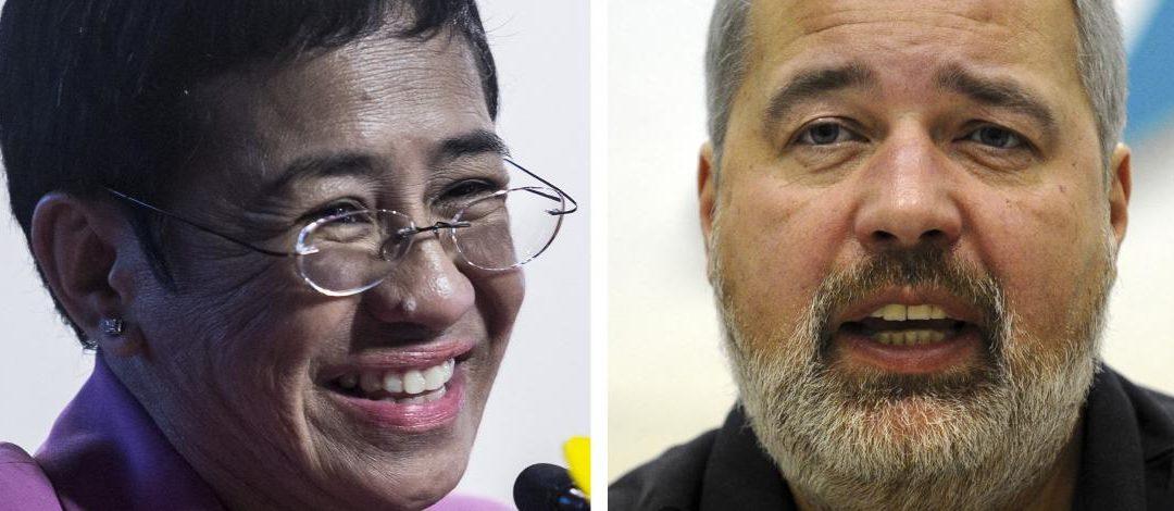 Friedensnobelpreis 2021: RSF begrüsst die «aussergewöhnliche Ehrung» für den Journalismus : RSF salue un «hommage extraordinaire» pour le journalisme